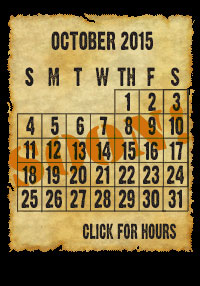 2011 Creepy Hollow Hayride Calendar